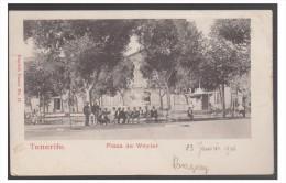 ESPAGNE -- ISLAS CANARIAS -- ILES DES CANARIES -- TENERIFE -- PLAZA DE WEYLER -- CP 1904 -- - Tenerife