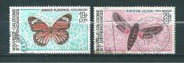 Nouvelle Calédonie  PA De 1967/68  N°92 Et 93  Oblitérés - Aéreo