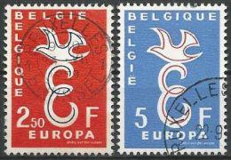 BELGIEN MI-NR. 1117/18 O Used - CEPT 1958 (111) - Europa-CEPT