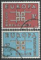 BELGIEN MI-NR. 1320/21 O Used - CEPT 1963 (111) - Europa-CEPT