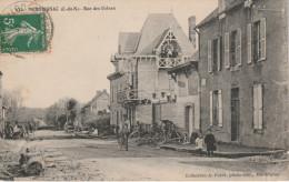 "CPA De 1913. MERDRIGNAC ""Côte Du Nord 22"" Rue Des Usines - France"