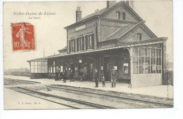631602-02- NOTRE DAME DE LIESSE La Gare - Aniumée - France