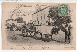 64 - ENVIRONS DE BIARRITZ . ATTELAGE BASQUE - Réf. N°14135 - - Biarritz