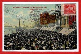 Amerique - ETATS UNIS -- ATLANTIC CITY --  Boarwalk , Traymore ..... - Atlantic City
