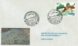 ENVELOPE CANCELLATION DESCENTE DE SELLA - CANOENING PIRAGUISMO 1988 - Canoa
