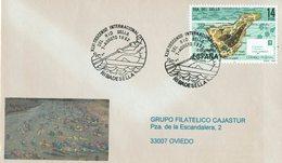 ENVELOPE CANCELLATION DESCENTE DE SELLA - CANOENING PIRAGUISMO 1982 - Canoa