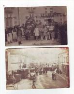 MANTHELAN  (Carnaval 1927 - 1929) 2 Cpa - France