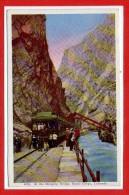 Amerique - ETATS UNIS -  COLORADO -- At The Hanging Bridge , Royal Gorge - Etats-Unis