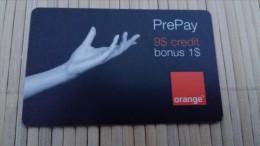 Orange Prepaidcard US  Rare - Vereinigte Staaten