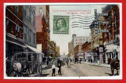 Amerique - ETATS UNIS  --  IOWA --  Locust Street , Looking East From - Etats-Unis