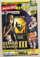 Micro Revue N° 15  90 Pages De Test Sur Les Jeux Vidéos Lara Croft  Tomb Raider III Nude Raider - Books, Magazines, Comics