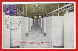 Amerique - ETATS UNIS  -- MICHIGAN --  Bath Departement  Whicomb Hotel And Mineral Baths St Joseph - Etats-Unis