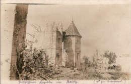 AK 1.WW / I.R. 96 (Thüringer) Zerschossene Kapelle In Bailly - Nähe Noyon / Oise - Oorlog 1914-18