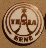 Nikola TESLA Company Czechoslovakia Electronic Industry Brno Pin Badge - Trademarks