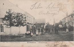 CPA - AK Aubange Eibeng Ibingen Grand Rue Cafe ? Hotel ? Bei Mont Saint Martin Petingen Petange Arlon Virton Messancy - Aubange