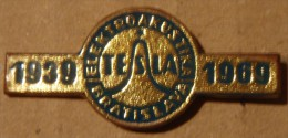 Nikola TESLA Company Czechoslovakia Electronic Industry C.Budejovice Pin Badge - Markennamen