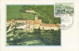 ITALIA - FDC MAXIMUM CARD 1980 -  FONTE AVELLANA - ANNULLO SPECIALE - Cartas Máxima