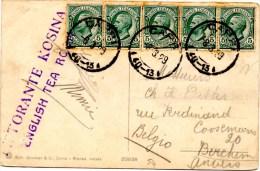 CP  De Capri (08.03.01929) Pour Berchem Anvers_Restorante Kosina - 1900-44 Vittorio Emanuele III