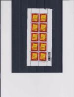 Belgie - Belgique 3527 Velletje Van 10 Postfris - Feuillet De 10 Timbres Neufs  -  Logo Belgica 2006 - Feuilles Complètes