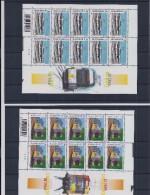 Belgie - Belgique 3772/74 Velletjes Van 10 Postfris - Feuillets De 10 Timbres Neufs  -  Tram Van Vandaag - Feuilles Complètes