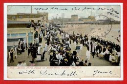 Amerique - ETATS UNIS - --  Atlantic City --  Annual Floral Parade On Board Walk - Atlantic City