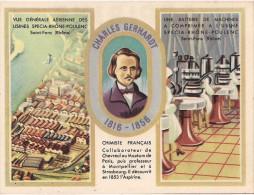 PUB ASPIRINE USINES DU RHONE CHARLES GERHARDT CARTE DE PESEE - Publicités
