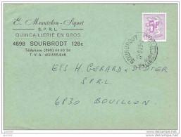 SOURBRODT ..-- WAIMES ..-- Carte Commande Quincaillerie Mennicken - Siquet . 1976 . - Waimes - Weismes