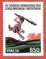 ITALIA REPUBBLICA MNH - 1996 - 13º Congresso Internazionale Delle Scienze Preistoriche E Protostoriche - £ 850 - S. 2238 - 6. 1946-.. Republic