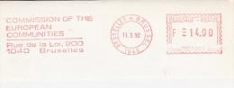 BELGIQUE BELGIE COMMISSION EUROPEENNE EUROPEAN COMMUNITIES LOI GESETZ BRUXELLES 1992 PBE 5023 - European Community