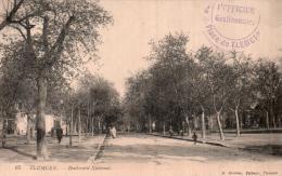 ALGERIE TLEMCEN BOULEVARD NATIONAL - Tlemcen