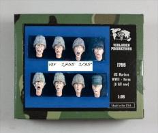 - VERLINDEN - Figurines US Marines WWII ( Korea )  - 1/35°- Réf 1755 - Figurines