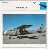 Vliegtuigen.- Lesvliegtuig. Lestoestel. Cessna Model 150 - 2 Scans - Vervoer