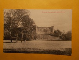 Carte Postale - CHAMAGNIEU (38) - Château, Près Crémieu (90/30A) - Francia