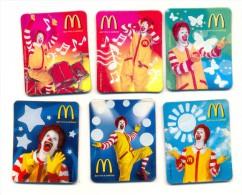 Russia McDonald's  Clown Ronald 6 Pcs - Altri