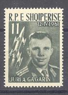 ALBANIEN  Michel # 644  **  Gagarin - Space