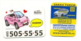 Russia Taxi Maxim 2 Pcs - Magneti