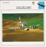 Vliegtuigen.- Lesvliegtuig. Lestoestel. CASA C-101 - Aviojet - 2 Scans - Vervoer