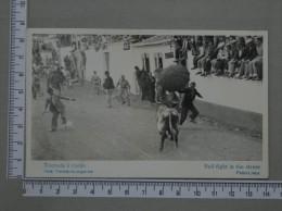 TOURADA À CORDA - AÇORES - 2 SCANS (Nº13786) - Açores