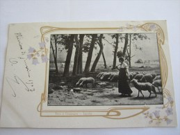 CPA DANS LA CAMPAGNE LEROLLE 1903 - Paintings
