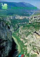Dossier Touristique Sur Le Parc Naturel Des Gorges Du Verdon (vers 1999/2000) - Dépliants Touristiques