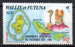 Wallis Et Futuna - Poste Aérienne - 1988 - Yvert N° PA 163 ** - Unused Stamps