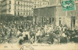 76 - ROUEN - Halles Centrales     GROSSE  ANIMATION - Rouen