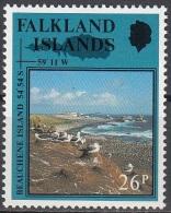 Falkland Islands 1990 Michel 519 Neuf ** Cote (2005) 2.20 Euro Beauchene Island Avec Albatros - Falkland
