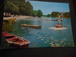 """CPDM - MONTEREAU """"La Plage"""" - Barques - Pédalo Et Plongeoir - Montereau"""