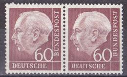 Wen_ Bund - Mi.Nr. 190 - Postfrisch MNH - Waagerechtes Paar - Unused Stamps