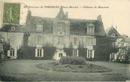 Dép 79 - Chateaux - Oroux - Château De Maurivet - état - Autres Communes