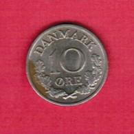 DENMARK  10 ORE 1972 (KM # 849.2) - Denmark