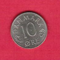 DENMARK  10 ORE 1973 (KM # 860.1) - Dänemark