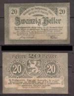 Österreich , Steyr - Notgeld , 20 Heller - Oesterreich