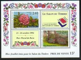 B-F N° 15 (Salon Du Timbre 1993) Neuf** LUXE: COTE= 12 Euros !!! - Blocs & Feuillets